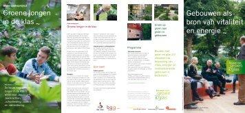 Groene longen in de klas - Productschap Tuinbouw