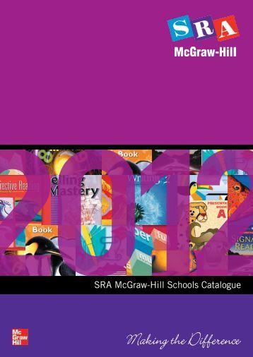 SRA McGraw-Hill Schools Catalogue - McGraw-Hill Education ...