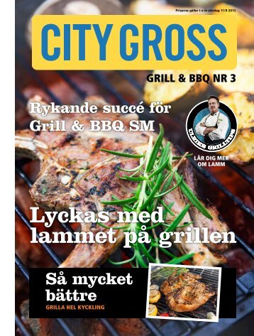 Grill & BBQ nr3 - City Gross