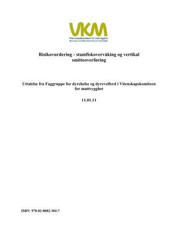 Vurdering av sannsynlighet for og risiko ved vertikal overføring av ...