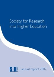 pages v4.indd - Society for Research into Higher Education