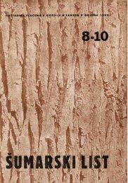 ÅUMARSKI LIST 8-10/1951
