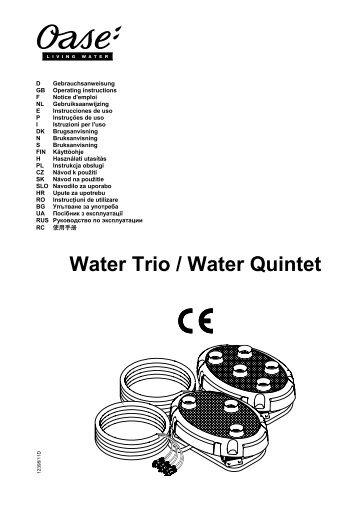Water Trio / Water Quintet - Zahradní jezírka OASE