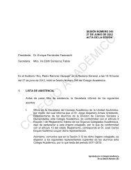 SESIÓN NÚMERO 345 27 DE JUNIO DE 2012 ACTA DE LA ... - UAM