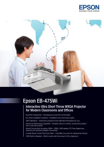 Specification Sheet - Epson