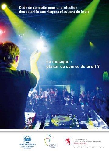 La musique : plaisir ou source de bruit ?