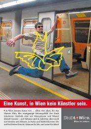 Eine Kunst, in Wien kein Künstler sein. - puhr, text und werbung