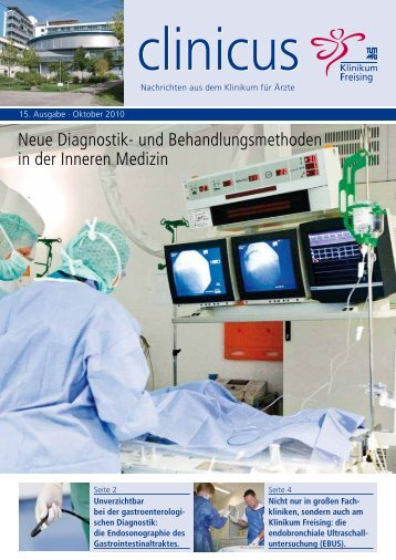 clinicus Oktober 2010 - Klinikum Freising