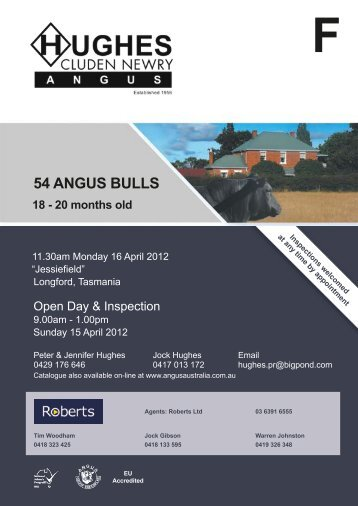 54 ANGUS BULLS - Roberts Ltd.
