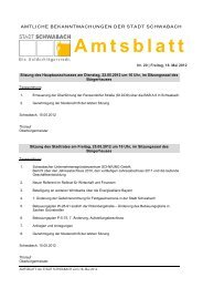 Nr. 20 vom 18. Mai 2012 - Stadt Schwabach
