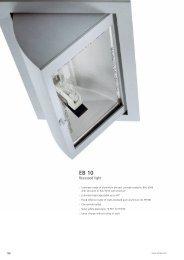 Recessed light EB 10 - Spittler