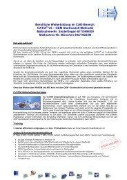 CATIA V5 - OEM Startmodell Methodik - C-Con Gmbh