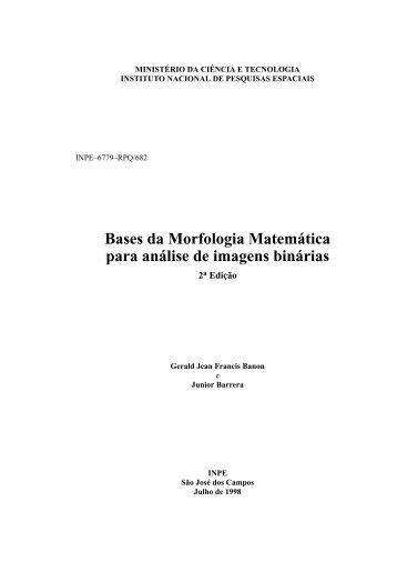 Bases da Morfologia Matemática para análise de imagens binárias