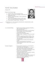 Profil Dr. Dennis Brodbeck