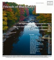 September 2009 - Friends of Blackwater Canyon
