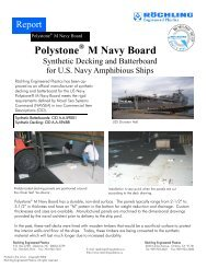 Polystone M - Navy Board - Röchling Engineering Plastics