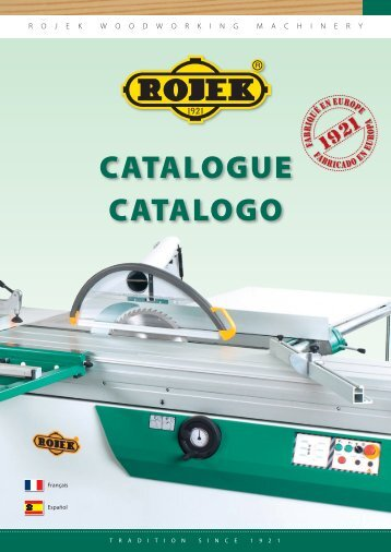 CATALOGUE CATALOGO - Rojek
