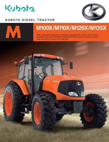 kubota diesel tractor m100x/m110x/m126x/m135x m - LiveUpdater