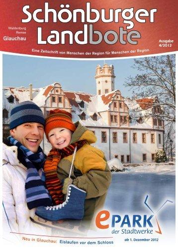 Aus Schönburgischen Landen - Stadtwerke Glauchau ...