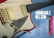 a signature model built by dean campbell for ... - Seymour Duncan