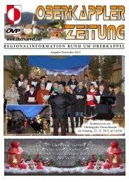 OZ Dezember 2013 - ÖVP Oberkappel