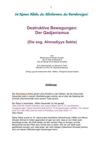Der Qadjanismus.pdf - Way to Allah