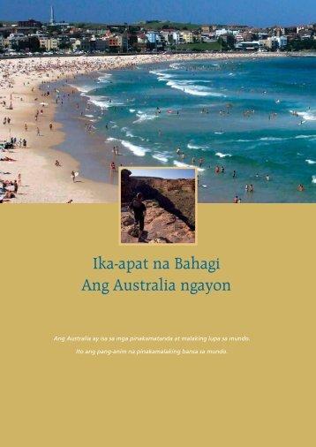 Ika-apat na Bahagi – Ang Australia ngayon - Australian Citizenship