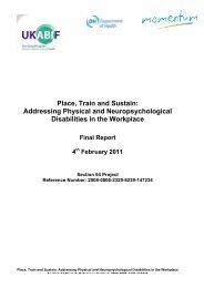 Place, Train and Sustain - United Kingdom Acquired Brain Injury ...