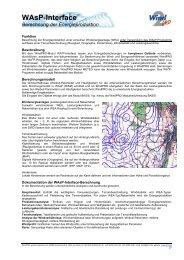 WAsP-Interface Berechnung der Energieproduktion