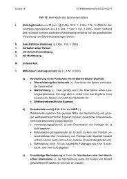 Fall 18: Kein Recht des Sportveranstalters I. Aktivlegitimation von M ...