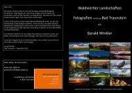 Waldviertler Landschaften Fotografien rund um Bad ... - Geo-Lights