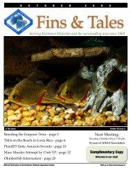 October 2009 - Kitchener Waterloo Aquarium Society