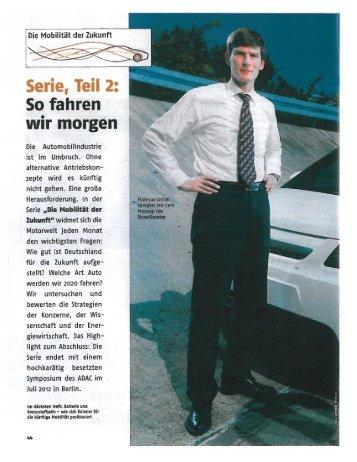 10.10.2011 Artikel ADAC Motorwelt - C-Con Gmbh