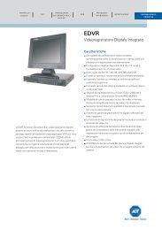 PSS184AI..EDVR Videoregistratore Digitale Integrato ADT ...
