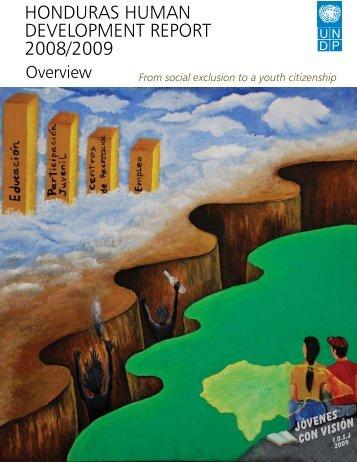 honduras human development report 2008/2009 - United Nations ...