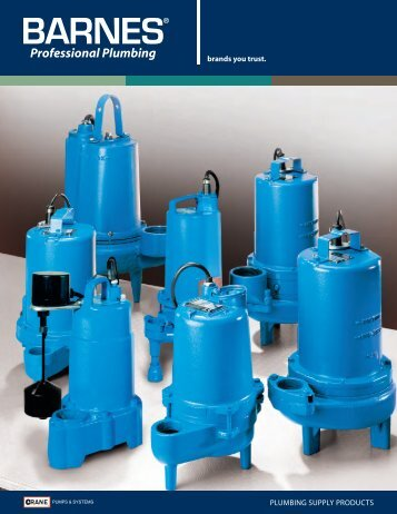 Plumbing Full Line Brochure - Crane Pumps & Systems