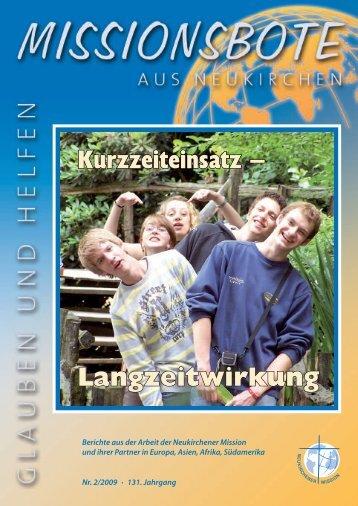 Bote 2009-2.pdf - Geschichte