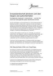 Organisationsenergie.pdf - Jansen Beratung & Training / Executive ...