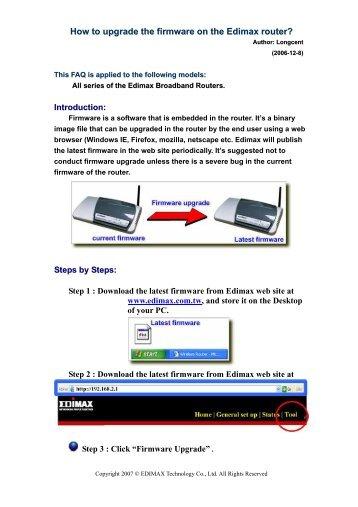 Edimax download.