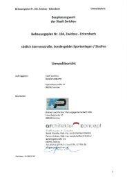 104 Umweltbericht mit Stand vom 14.08.2013 (*.pdf ... - Stadt Zwickau