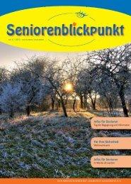 Infos für Senioren Für Ihre Sicherheit Infos für ... - Kreisseniorenrat