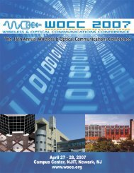 Click here to download WOCC 2007 Program Guide