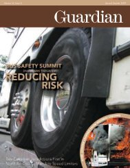 guardian 2q09_web.pdf - Commercial Vehicle Safety Alliance