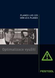 Optimalizace využití - PK Festool