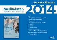 Mediadaten - WDV Gesellschaft für Medien & Kommunikation mbH ...