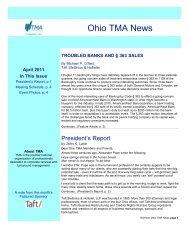 Ohio TMA News - Turnaround Management Association