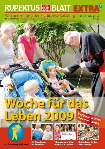 """Dokumentation """"Woche für das Leben"""" 2009 (PDF 2,9 MB)"""