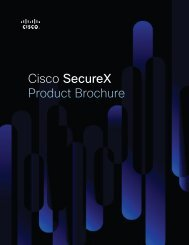 Cisco Security Brochure
