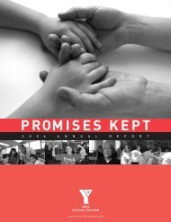 PRomises KePt - the YMCA of Greater Cleveland