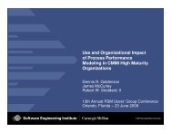Use and Organizational Impact of Process Performance Modeling in ...